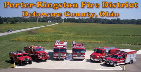 Porter-Kingston Fire District, Delaware County, Ohio